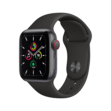 SmarTone Online Store Apple Watch SE (GPS + Cellular), 40mm Aluminium Case with Sport Band