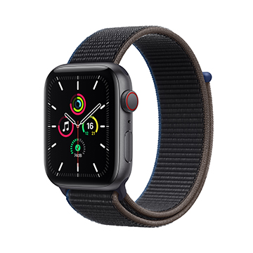 SmarTone Online Store Apple Watch SE (GPS + Cellular), 44mm Aluminium Case with Sport Loop
