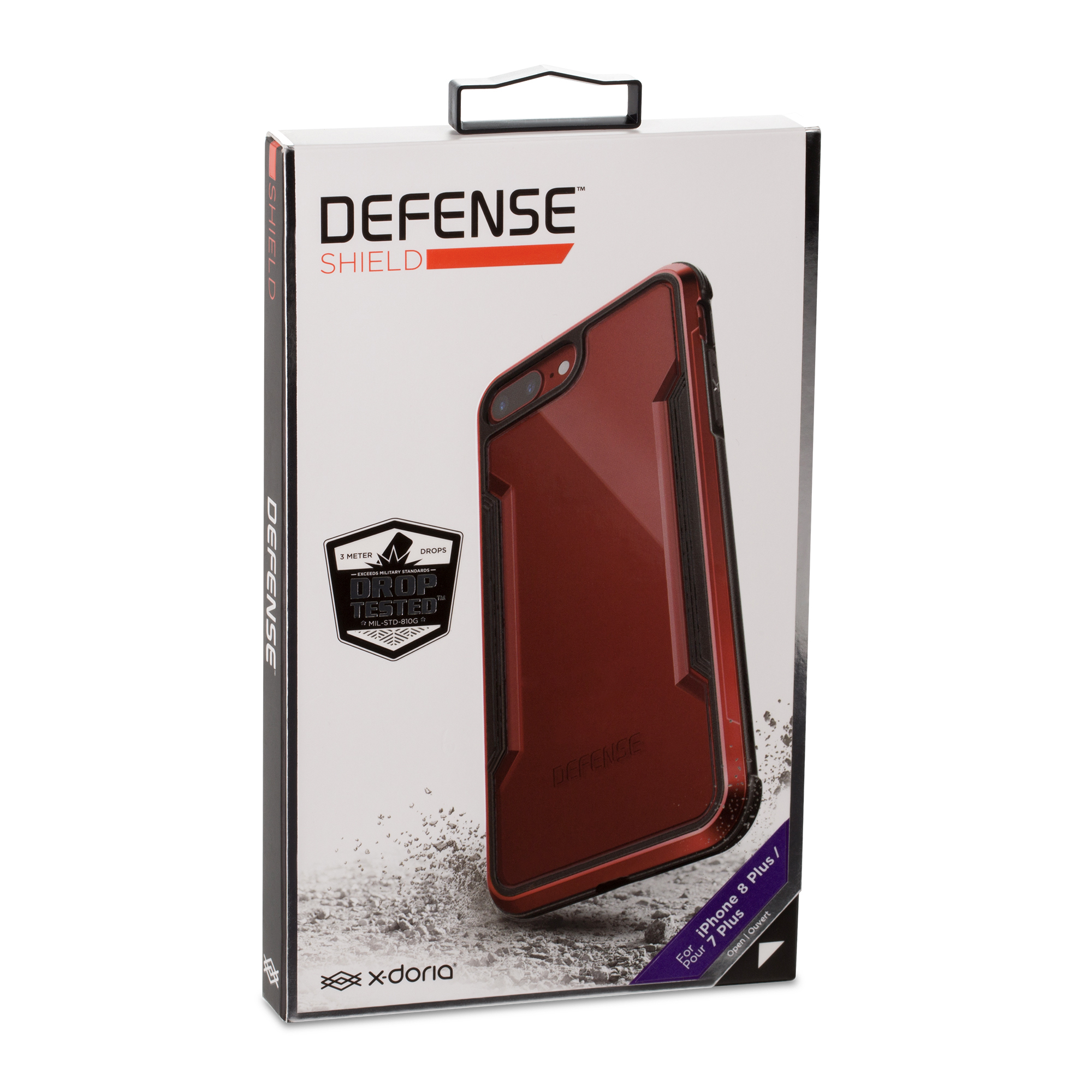 reputable site 09d4a 2e7d2 x-doria Defense Shield for iPhone 8 Plus - SmarTone Online Store