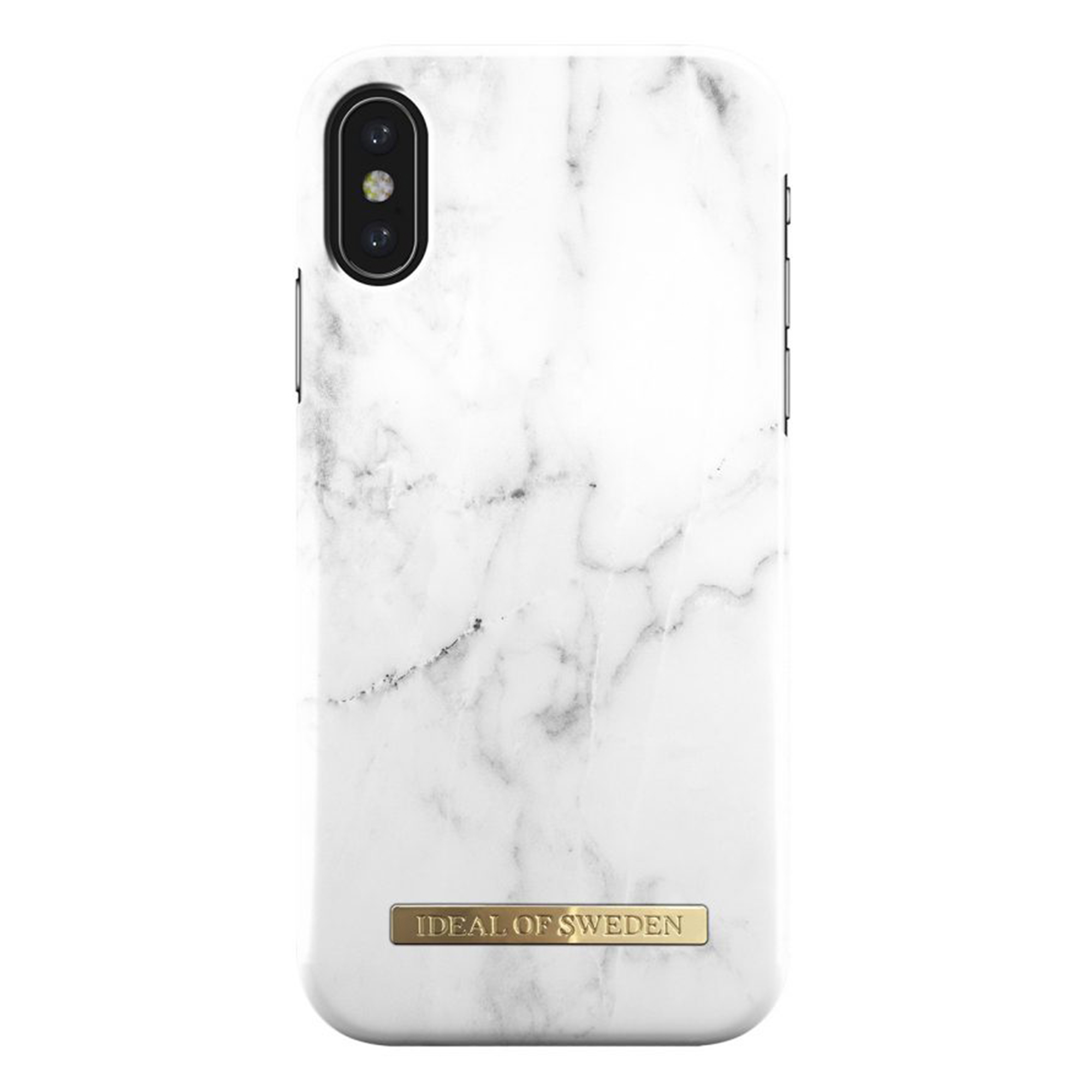 classic fit 4caa1 0ac5b iDeal of Sweden Fashion iPhone X case - White Marble - SmarTone ...