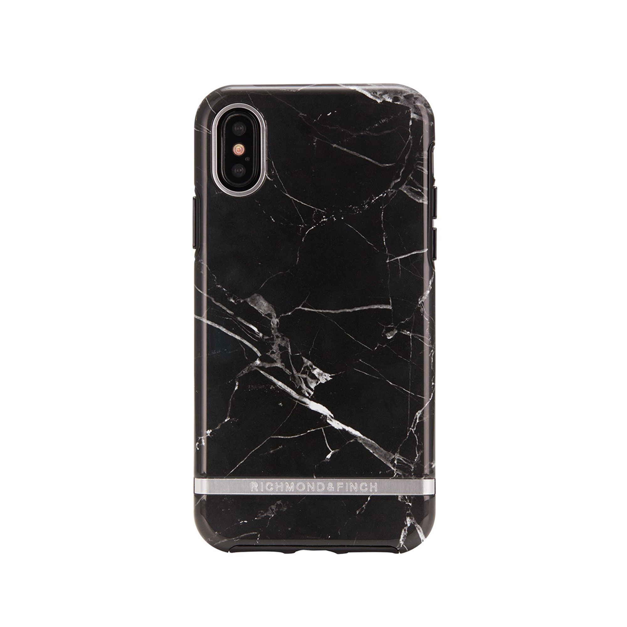 new concept 03c39 825c7 Freedom Case for iPhone XS - Black Marble