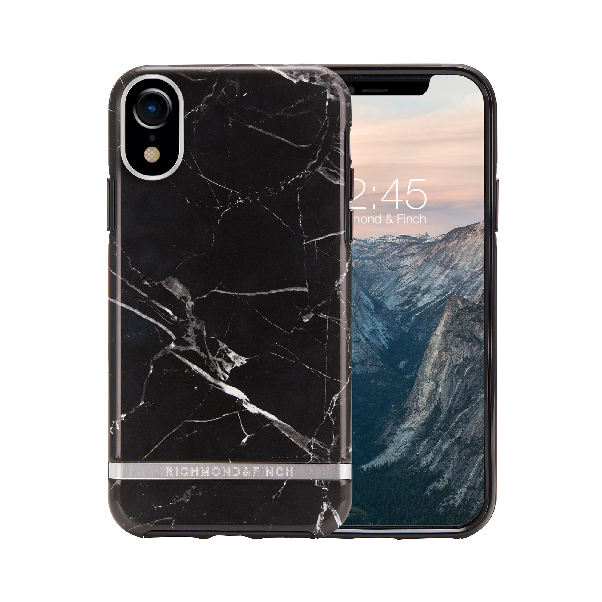 the best attitude 024ad f0a2e Freedom Case For iPhone XR - Black Marble