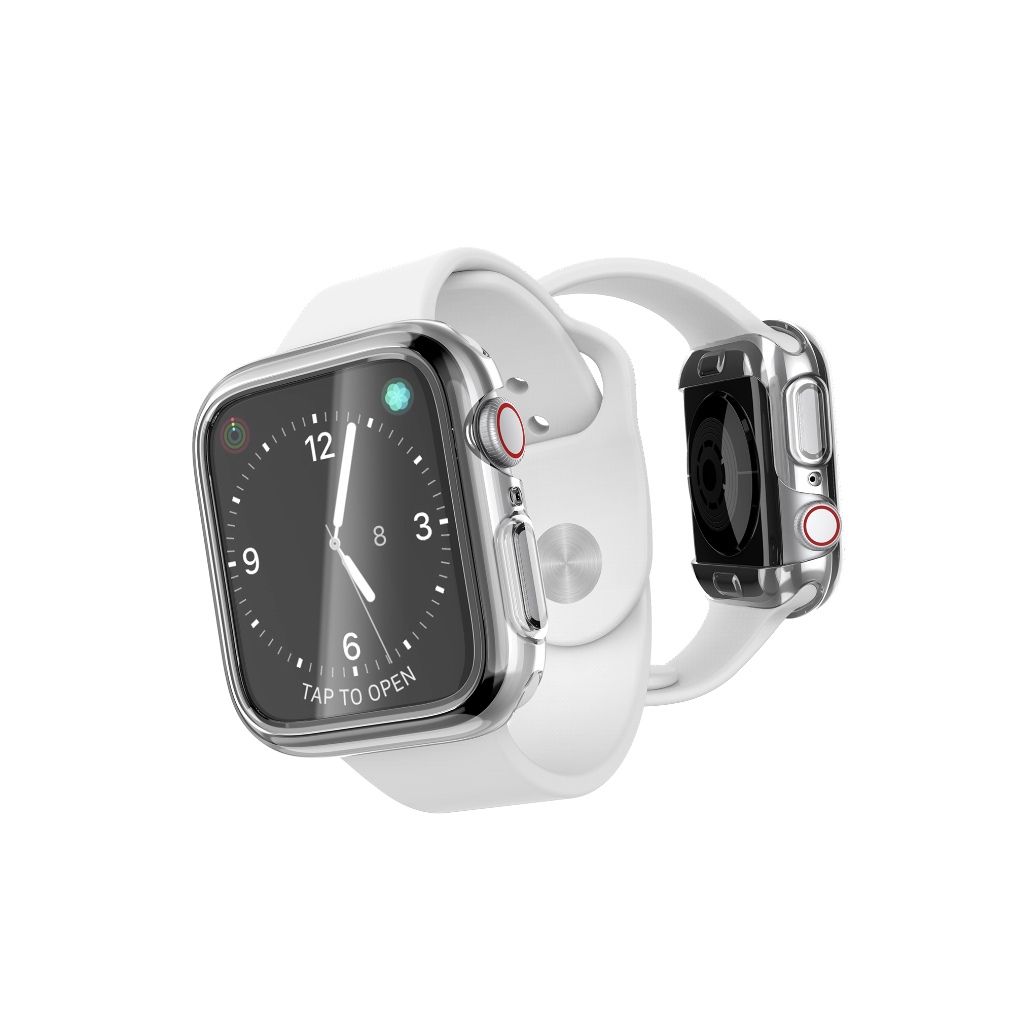 save off b5e80 b0192 Apple Watch Series 4 (44mm) DEFENSE 360X CLEAR Case