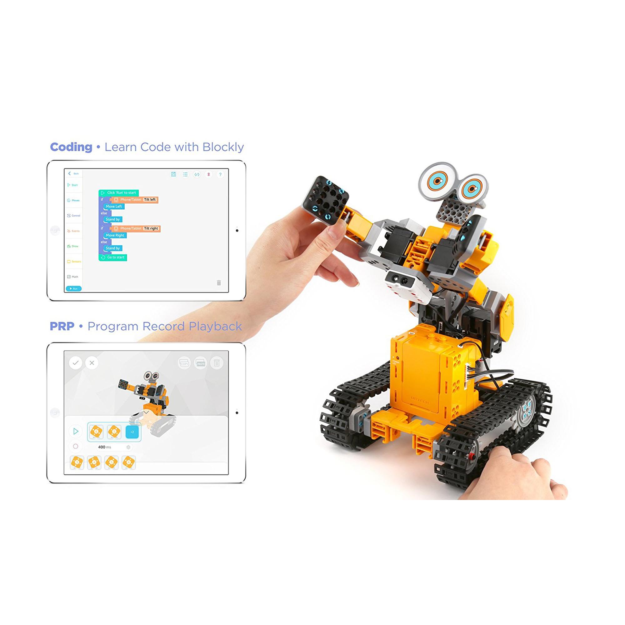 Kết quả hình ảnh cho Ubtech Jimu Robot TankBot Kit