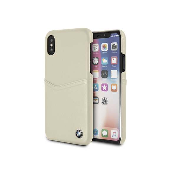 SmarTone Online Store BMW iPhone 真 皮 保 護 殼 - 5.8 吋 瑩 幕