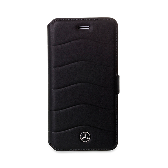 SmarTone Online Store Mercedes Benz Real Leather iPhone Booktype case - 4.7 Inch Screen