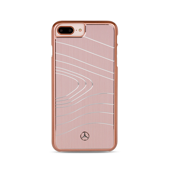 SmarTone Online Store Mercedes Benz iPhone Brushed Aluminium with waves - 5.5 Inch Screen