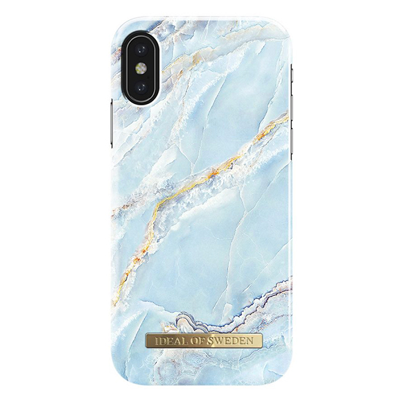 SmarTone Online Store iDeal of Sweden Fashion iPhone X case - Island Paradise Marble