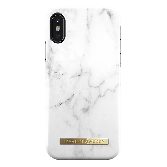 SmarTone Online Store iDeal of Sweden 時 尚 iPhone X 手 機 保 護 殼 - White Marble