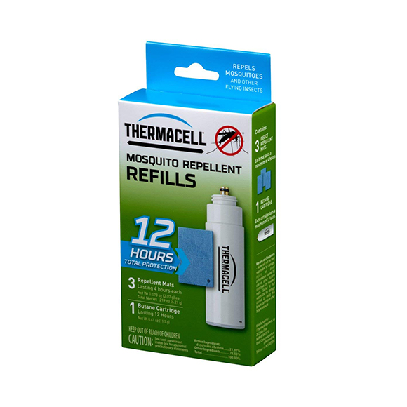SmarTone Online Store Thermacell Original Mosquito Repellent Refills - 12 Hours