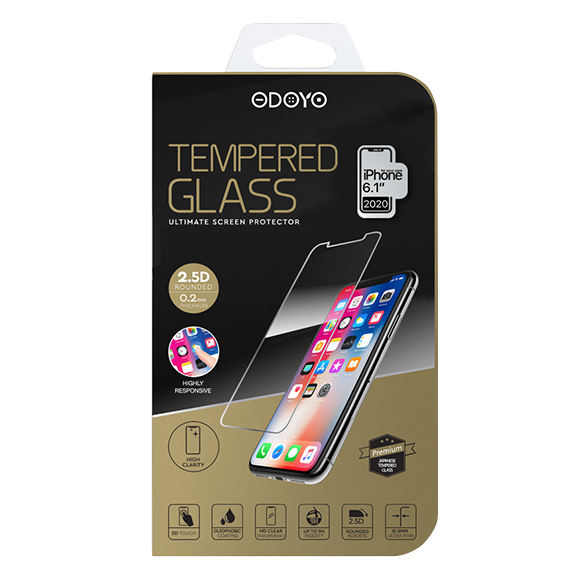 SmarTone Online Store Odoyo 0.2mm Tempered Glass Screen Protector for iPhone 12 /12 Pro