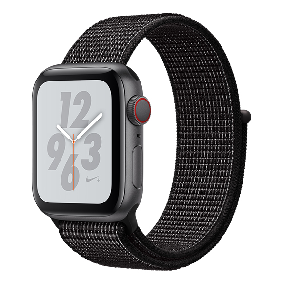 SmarTone Online Store Apple Watch Series 4 (40mm)(GPS + Cellular) Nike+ Space Gray Aluminum Case with Black Nike Sport Loop