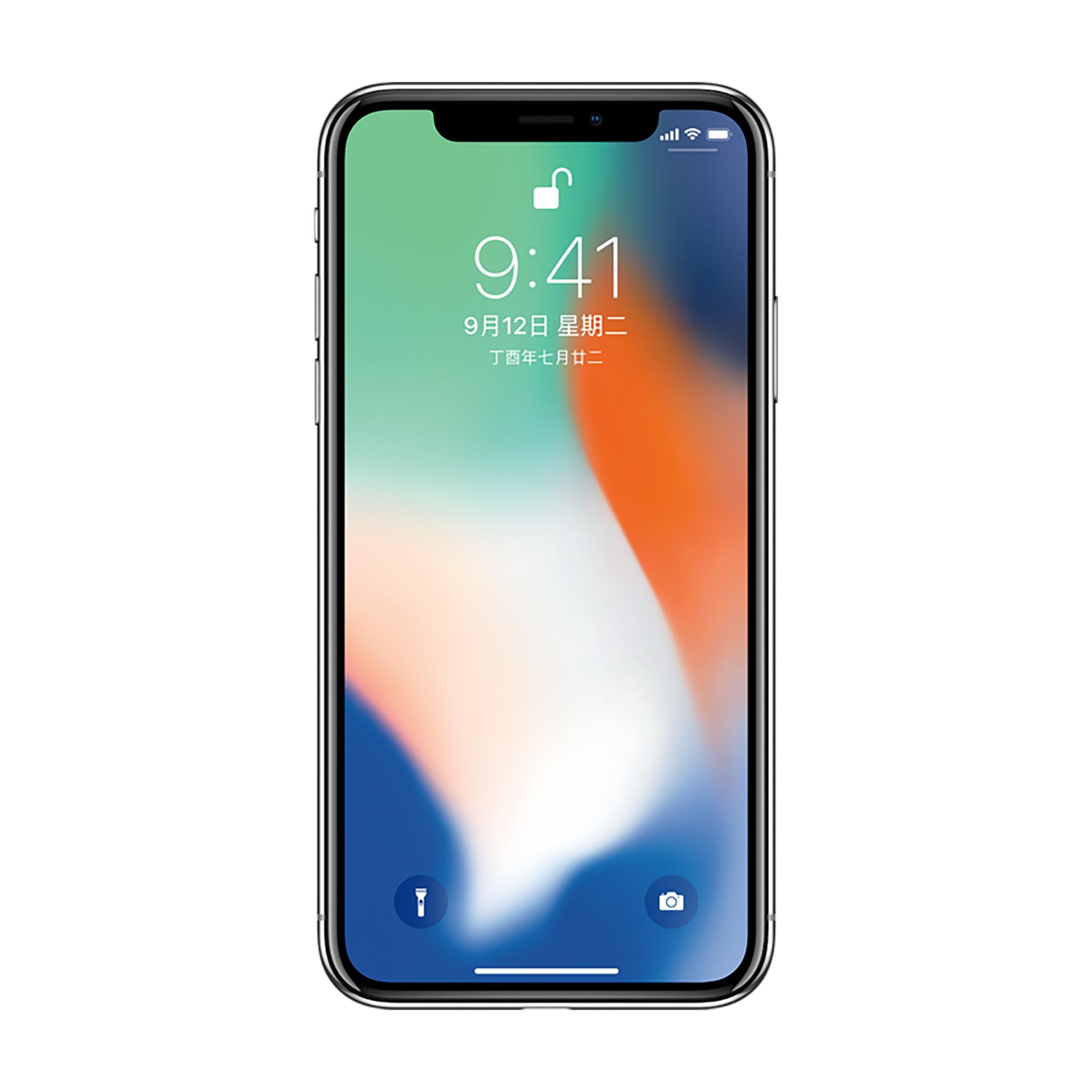 Apple Iphone X 256GB Gray Silver